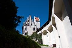 Schloss Fussen - castillo en la Austria Imagen de archivo libre de regalías