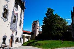 Schloss Fussen 3 - castillo en la Austria Imagenes de archivo