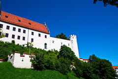 Schloss Fussen panorama royalty free stock photo