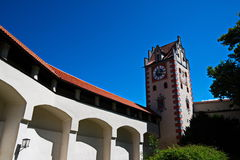 Schloss Fussen 4 - slott i Österrike Arkivbilder