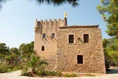 Schloss in Githyo Lizenzfreie Stockfotos