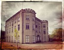 Schloss in Glin im Grafschafts-Limerick lizenzfreies stockbild