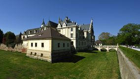 Schloss Grafenegg, Niederosterreich, Autriche photographie stock