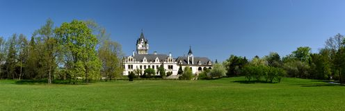 Schloss Grafenegg, Niederosterreich, Autriche photo stock