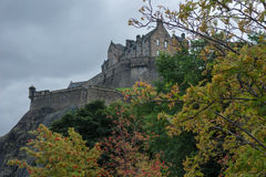 Schloss-Hügel Lizenzfreie Stockfotografie