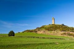 Schloss-Hügel Lizenzfreie Stockbilder