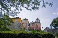 Schloss-Hügel Jansky Stockfotografie