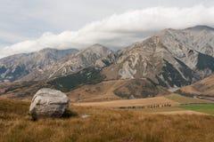 Schloss-Hügel, Neuseeland Stockfotos