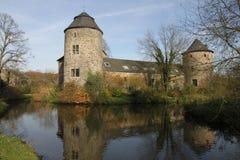 Schloss Haus Zum Haus Stockfoto
