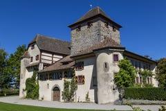 Schloss Hegi 城市温特图尔,瑞士 免版税库存照片