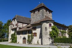 Schloss Hegi Città Winterthur, Svizzera Fotografia Stock Libera da Diritti