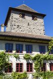 Schloss Hegi Miasto Winterthur, Szwajcaria Zdjęcie Stock