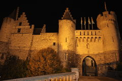 Schloss Het Steen Lizenzfreie Stockfotografie