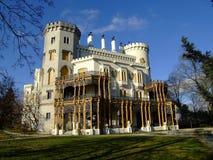 Schloss hluboka Stockfoto