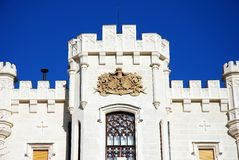 Schloss Hluboka Lizenzfreie Stockfotografie
