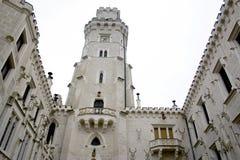 Schloss Hluboka - Tscheche Stockbild