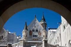 Schloss-Hof Lizenzfreies Stockbild
