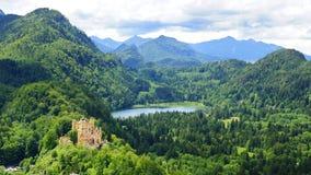 Schloss hohenschwangau Royalty Free Stock Photos