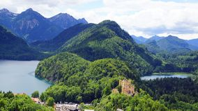Schloss hohenschwangau Royalty Free Stock Photography