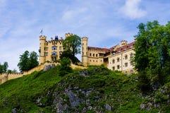 Schloss hohenschwangau 免版税库存图片