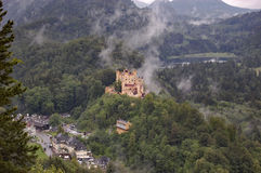 Schloss Hohenschwangau, Baviera, Germania Fotografia Stock