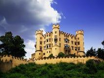 Schloss Hohenschwangau im Südbayern Stockbild