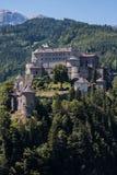 Schloss Hohenwerfen nahe Salzburg in Österreich Lizenzfreie Stockfotografie
