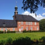 Schloss Husum stockbild