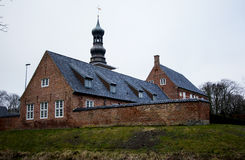 Schloss in Husum, Deutschland lizenzfreie stockfotografie