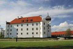 Schloss im Bayern stockfotografie