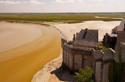Schloss im Sand lizenzfreies stockbild