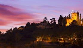 Schloss in Italien Lizenzfreie Stockfotografie