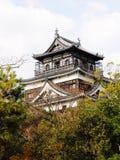 Schloss Japan-Hiroschima Stockbilder
