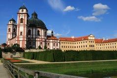 Schloss in Jaromerice lizenzfreies stockfoto
