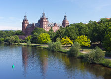 Schloss Johannisburg Royalty Free Stock Images