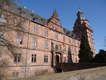 Schloss Johannisburg 5 Stock Photo