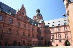 Schloss Johannisburg, Allemagne Photo stock