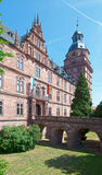 Schloss Johannisburg Drawbridge Royalty Free Stock Image