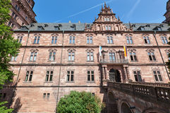 Schloss Johannisburg Exterior Stock Photo