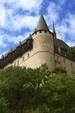 Schloss Karlstein. Stockbild