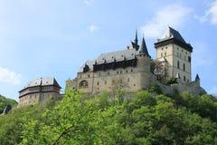 Schloss Karlstein in der Tschechischen Republik lizenzfreie stockfotos