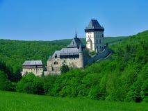 Schloss Karlstejn lizenzfreie stockfotos