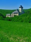 Schloss Karlstejn stockfoto