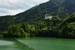 Schloss Klaus, Oberosterreich, Oostenrijk Royalty-vrije Stock Afbeeldingen