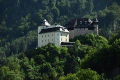 Schloss Klaus, Oberosterreich, Oostenrijk Stock Afbeeldingen