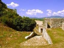 Schloss in Knin in Kroatien. stockbild