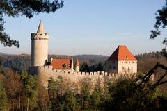 Schloss Kokorin Stockfoto