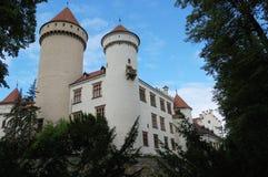 Schloss Konopiste Stockbild