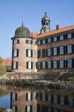 Schloss-Kontrolltürme Stockfotografie