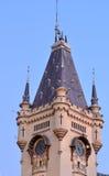 Schloss-Kontrollturm Stockfoto